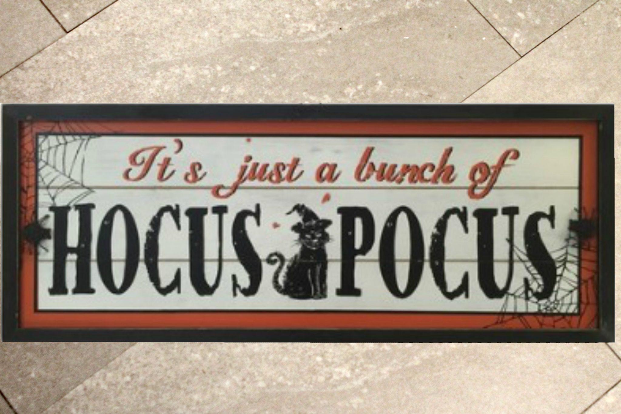 Hocus Pocus Halloween Decor Makeover Pretty DIY Home