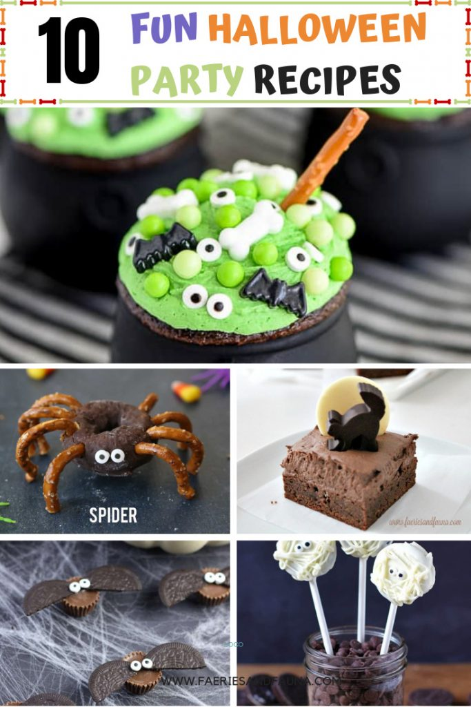 Halloween treats for kids or for a crowd. There is all sorts of cool, creative and colourful treat ideas in this post.