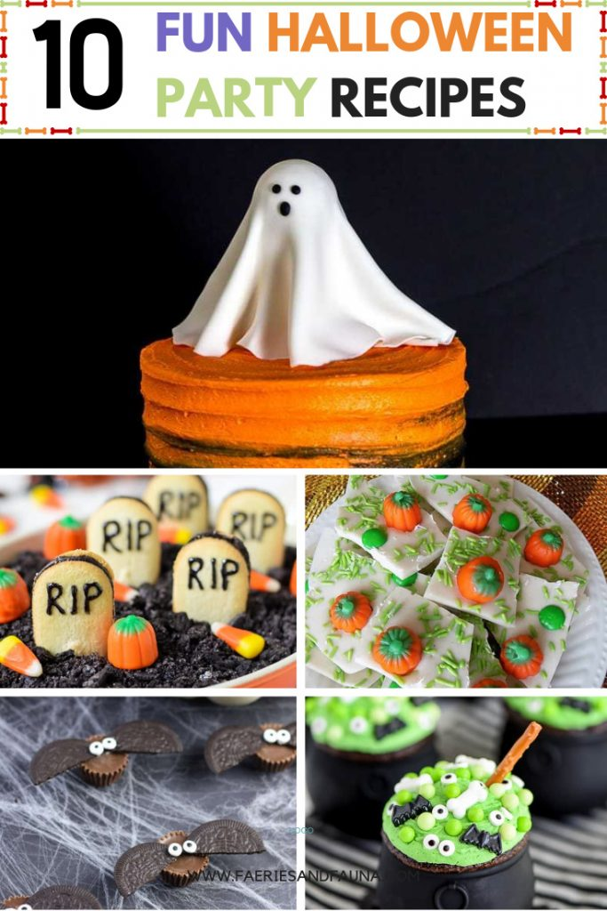Halloween treats for kids. This collection has sever simple, easy, and fun to make Halloween dessert ideas.