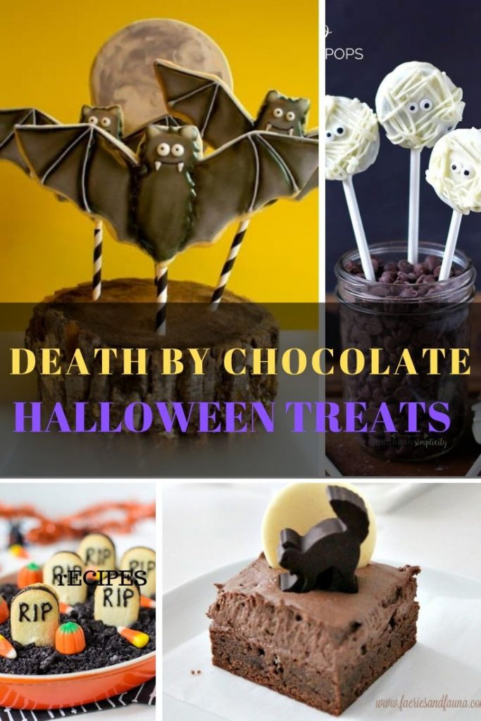 Homemade sweet treats for Halloween. These halloween treats for kids can be taken to school, or used to feed a crowd.