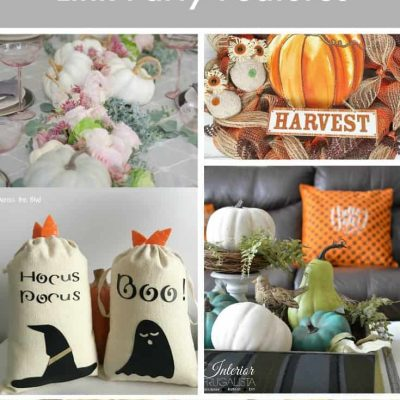Hello Fall Party Featured Crafts, Recipes, Decor and Activities