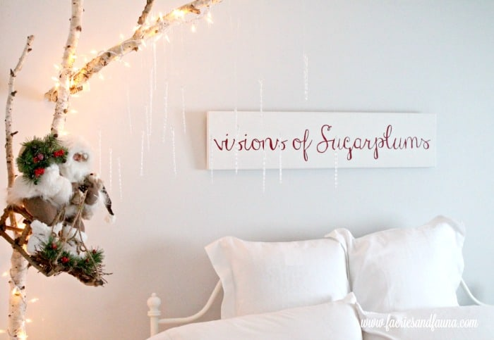 DIY wood sign for Christmas and other christmas decoration ideas diy projects for a child's room