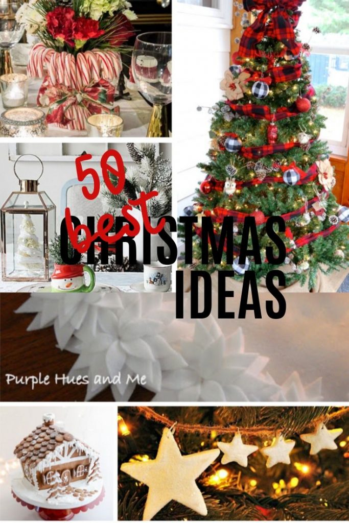 A collection of Christmas ideas for recipes, crafts, games and decorating