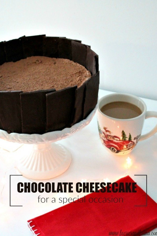 Chocolate Cheesecake Recipe for a Special Occasion