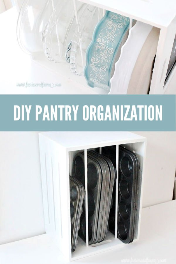 DIY Pantry Organization boxes and decluttering ideas