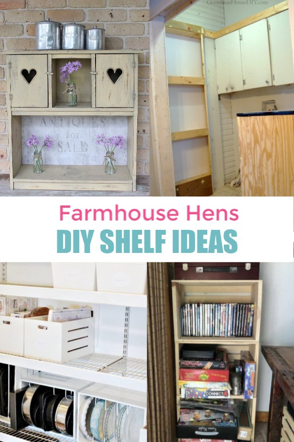 DIY Shelf Ideas of different kids.