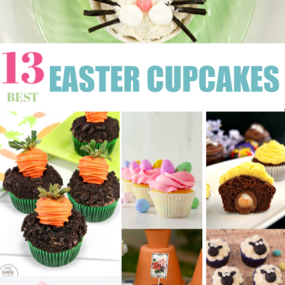 13 Best Easter Cupcake Recipes