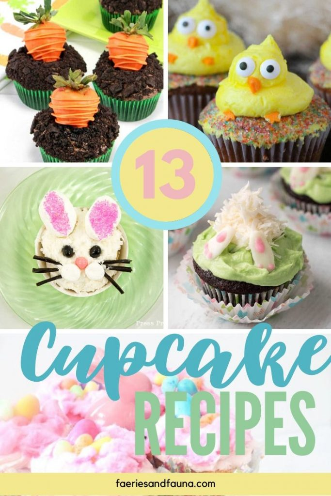 The Best Easter cupcake recipes for kids, these easy to decorate Easter egg cupcakes are so adorable and pretty.