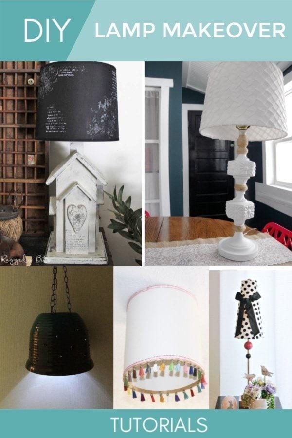 5 DIY Lamp Makeover Tutorials