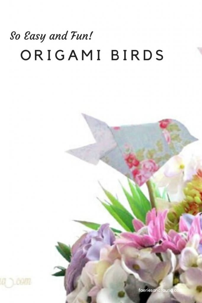 How to make an easy and Colorful DIY Origami Bird Magnets | 1024x683