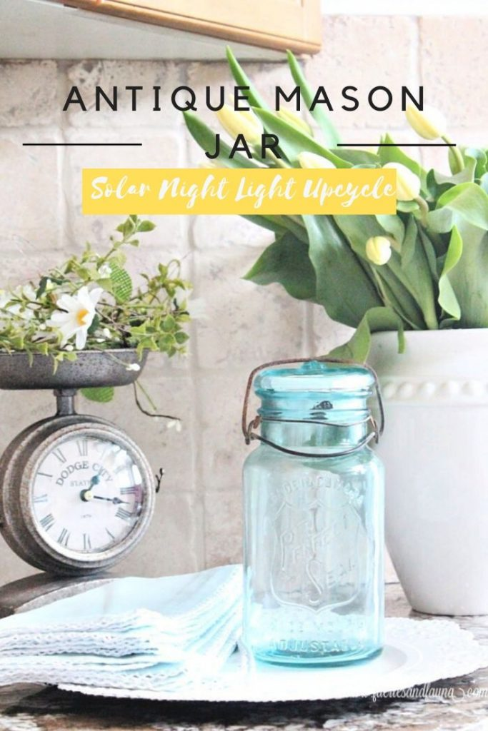 A fun and unique mason jar upcycle craft