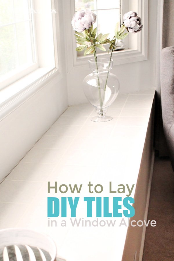 How to lay tiles. DIY tutorial on laying and cutting tiles.
