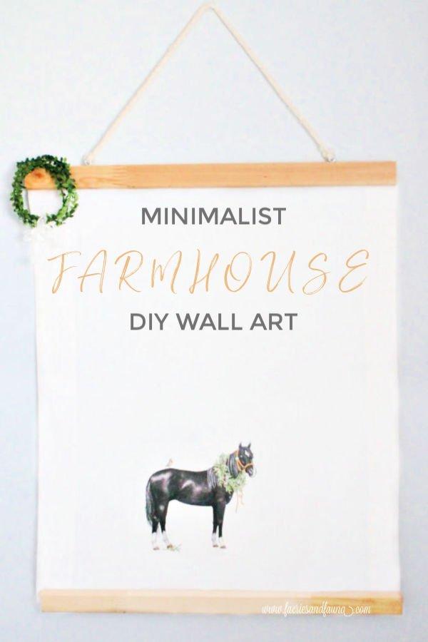 Easy to Make Farmhouse Wall art