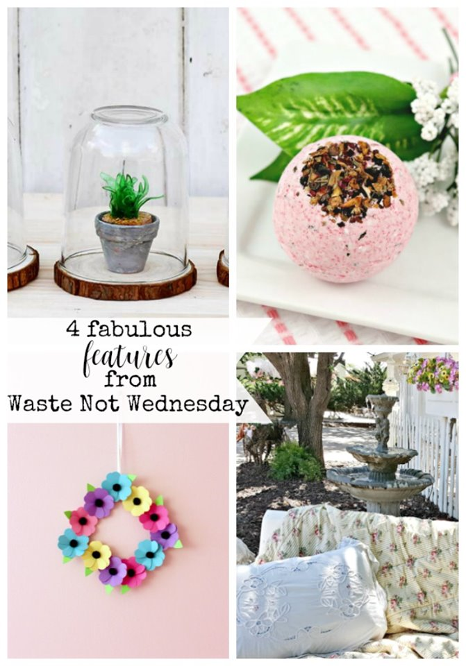 Waste not Wednesday link party features