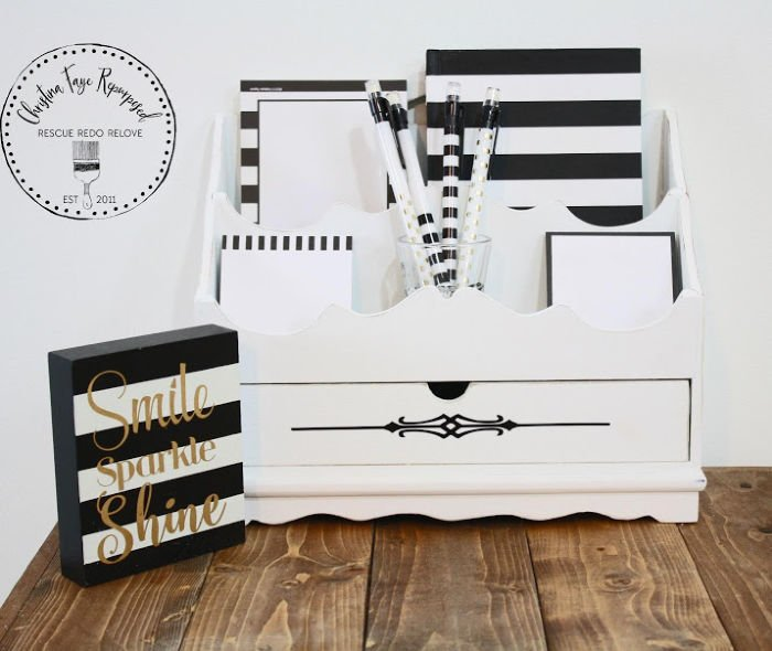 Paper organizer upcycle