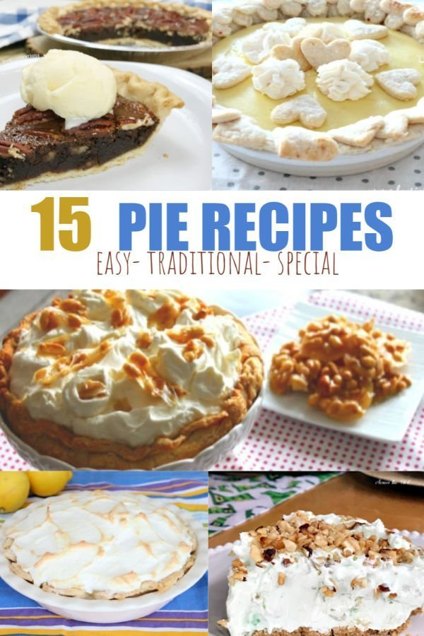 A collection of homemade pie recipes.