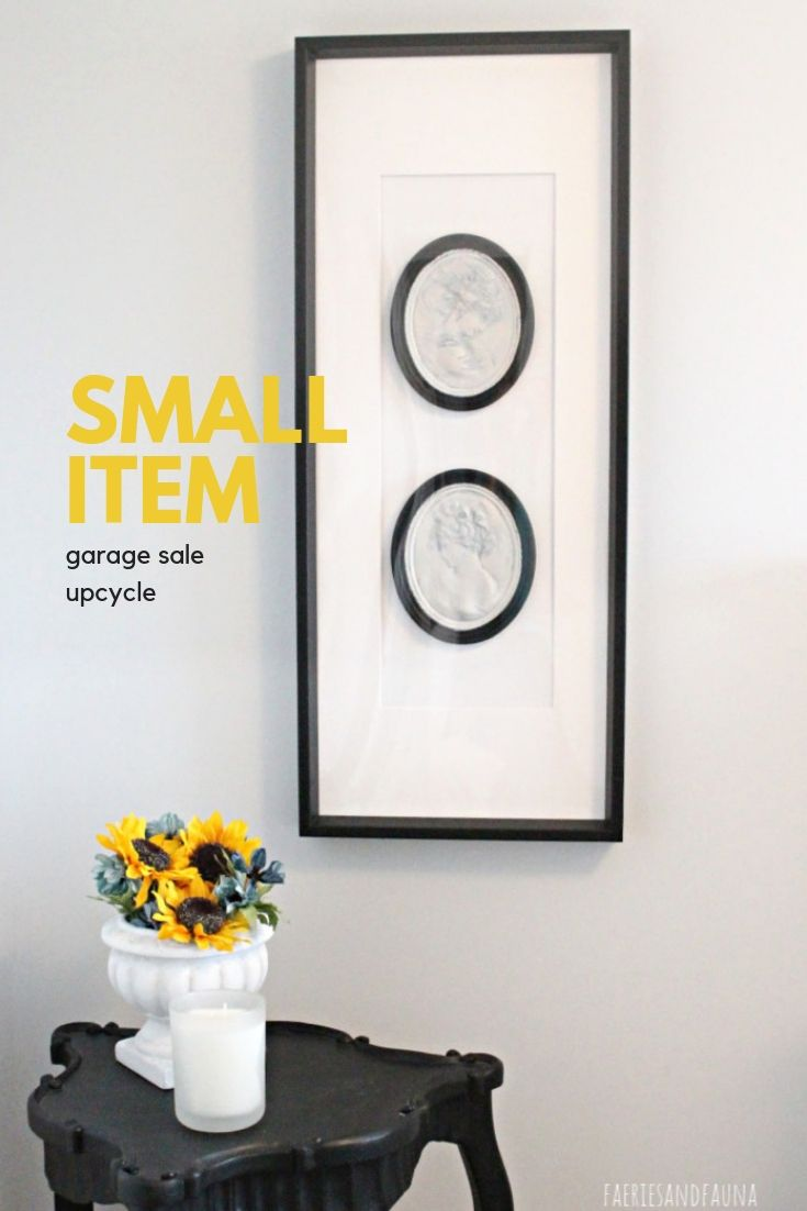 Tutorial on using Small items to make a large piece of wall art