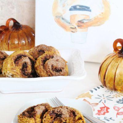 Pumpkin Cinnamon  Swirl Scones Recipe