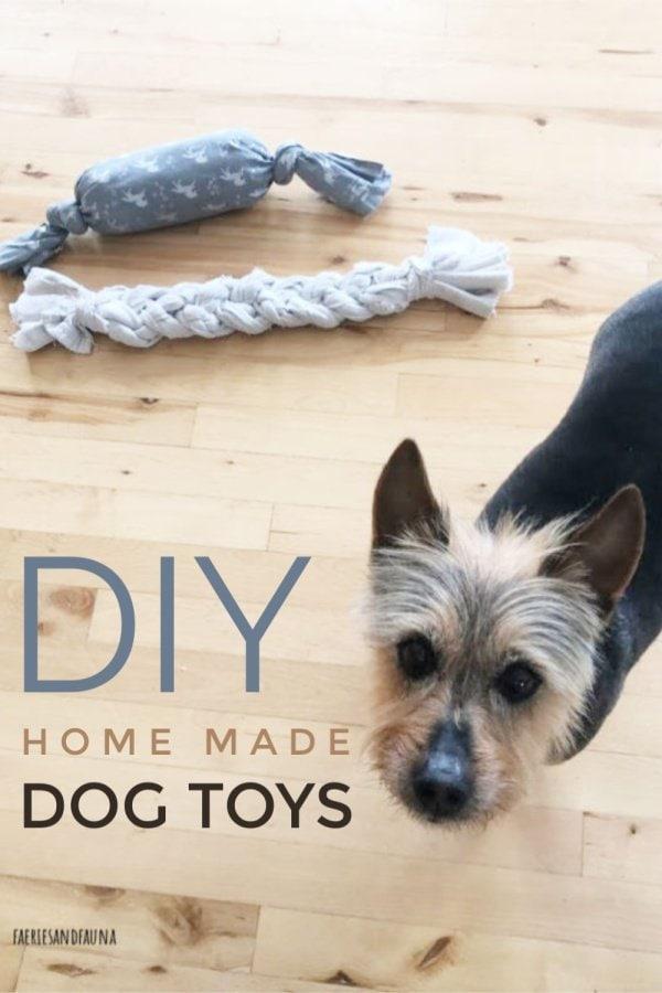 DIY dog toys for cheap