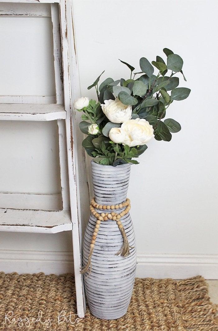 DIY Farmhouse Vase Makeover