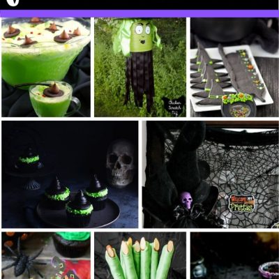 Witch Themed Halloween Ideas for Halloween Decor, Recipes and Fun Halloween Crafts