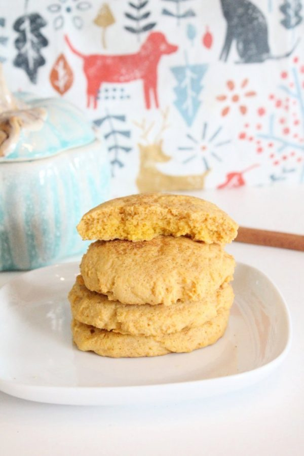 Pumpkin cookie recipe that is great for lunches, fall recipe that kids will love.