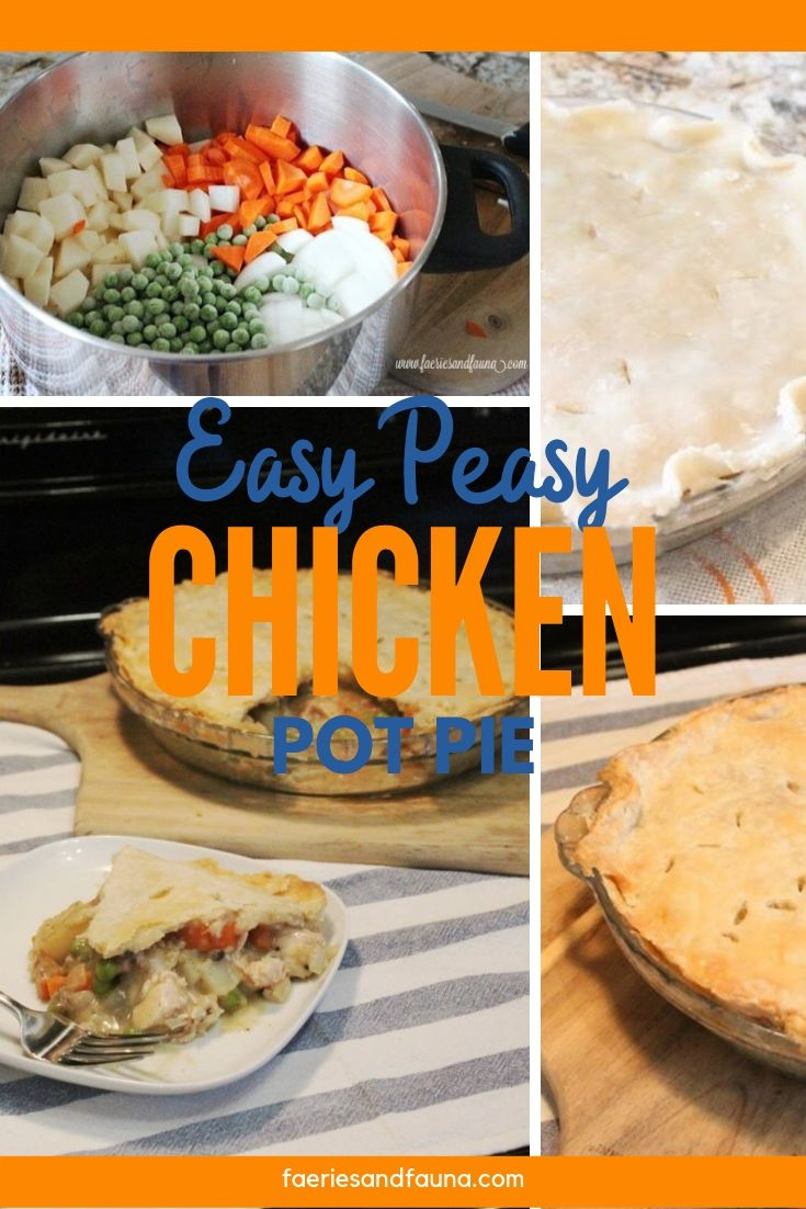 The best chicken pot pie recipe made using store bought chicken
