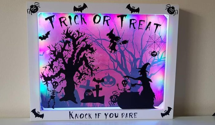 Fun Halloween craft that can be done with kids