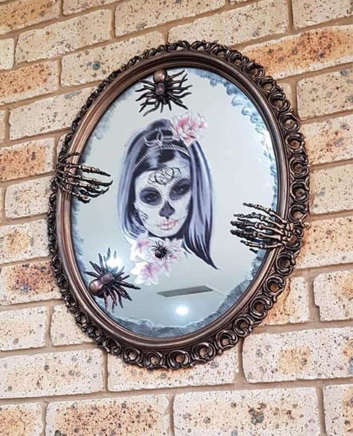 A DIY Halloween Mirror