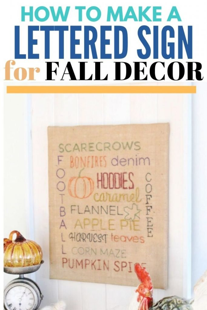 A fun fall craft for adults or children.