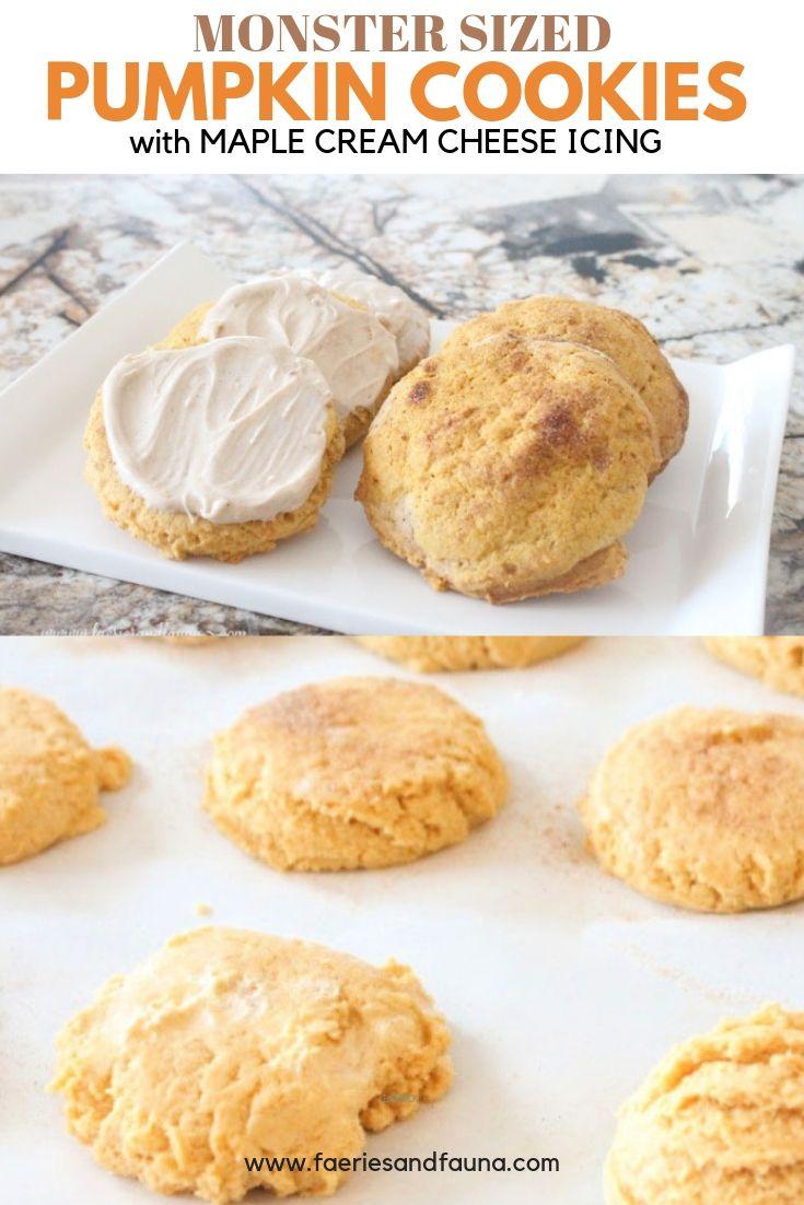 Fall recipe using Pumpkin. Homemade from scratch Pumpkin Sugar cookies.