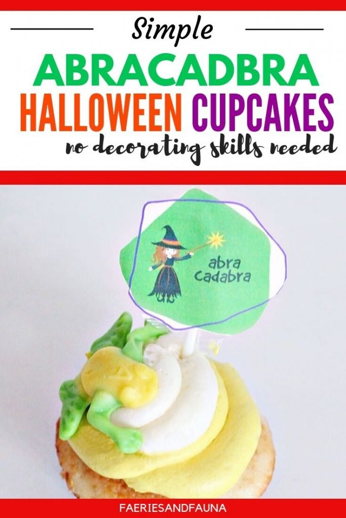 Cute Halloween snacks for a kids Halloween party. Easy to make Halloween cupcakes