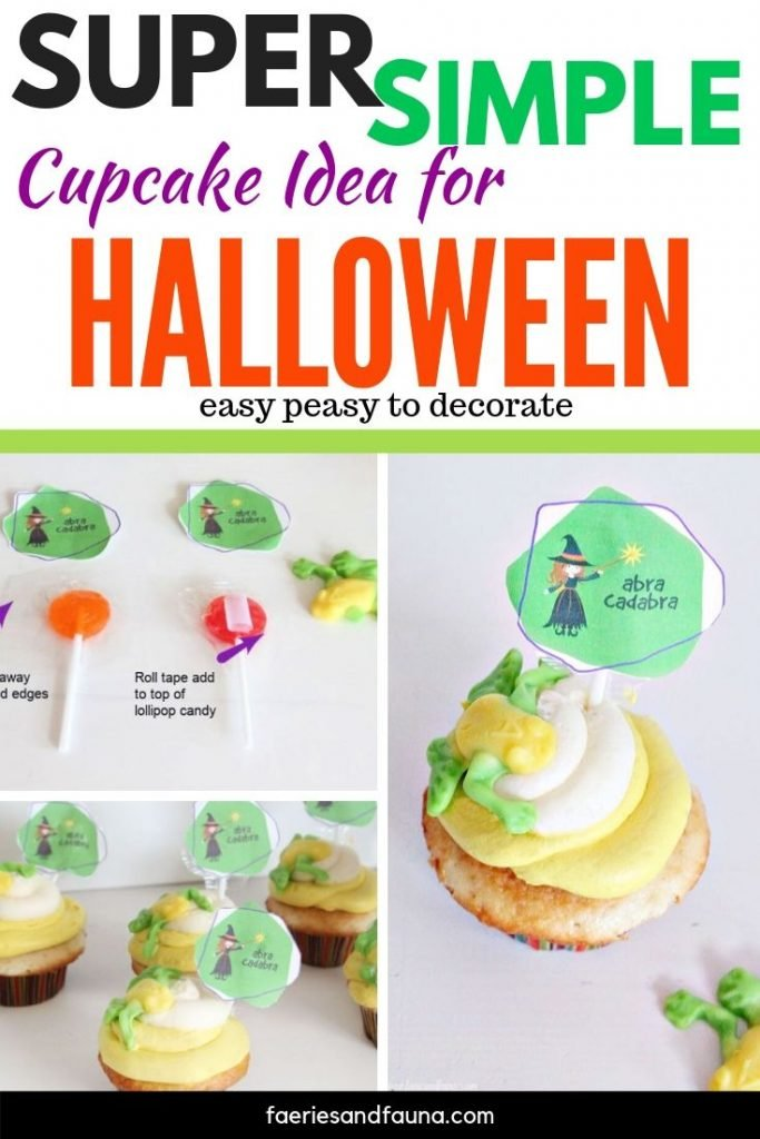 How to decorate Halloween cupcakes for Halloween