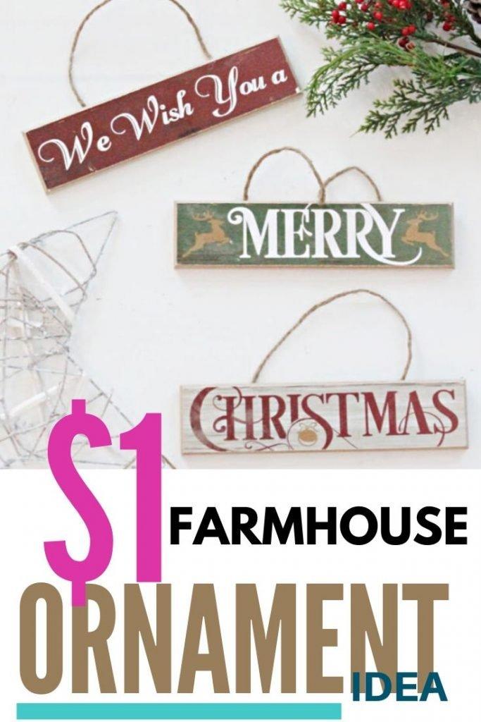 Easy to Make DIY Christmas ornaments