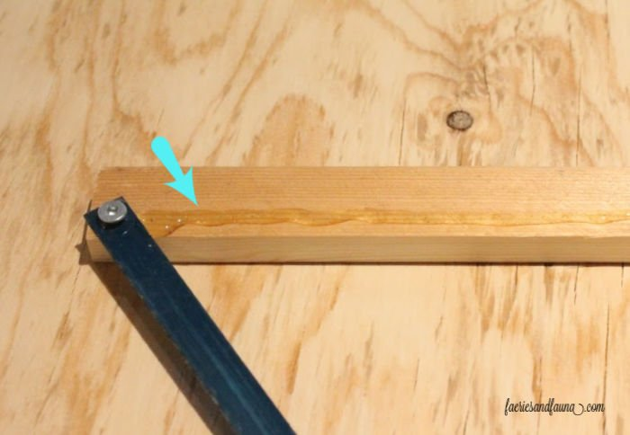How to attach a blade to a DIY Paper Scroll Sign and holder