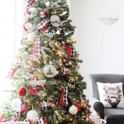 Step by Step Christmas Tree Ribbon Tutorial