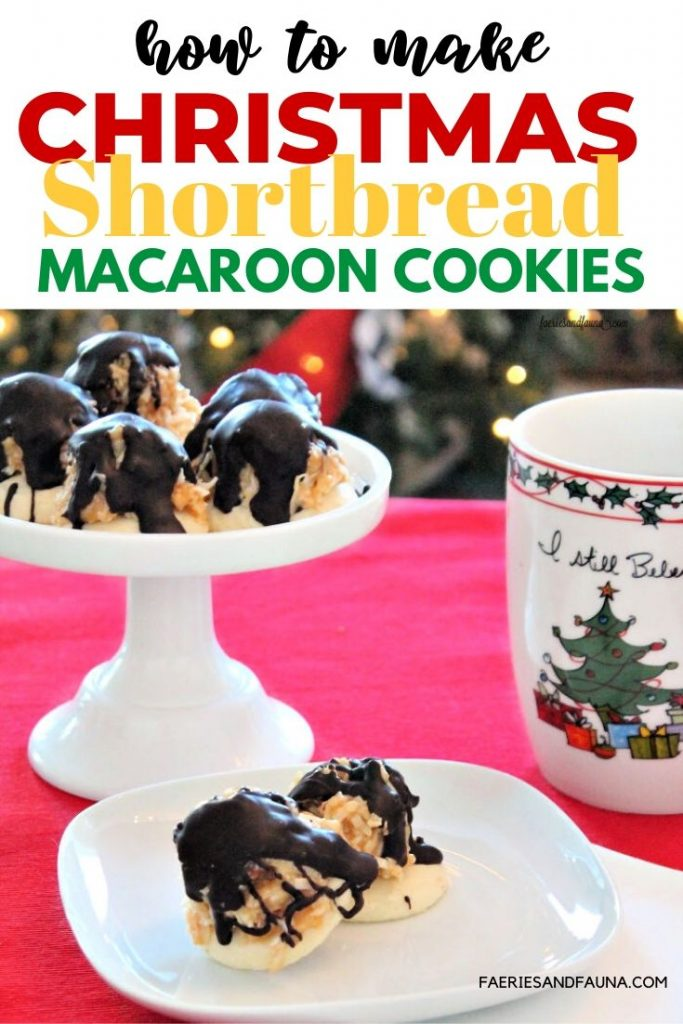 Christmas cookie recipe made with Shortbread, Caramel, Coconut, and chocolate