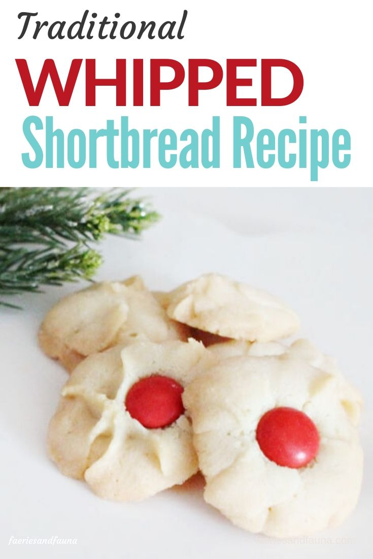 The best dropped shortbread recipe.