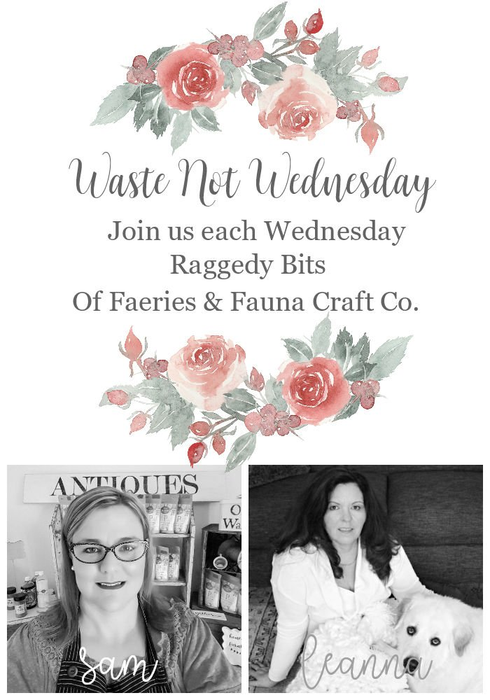 Join us each Wednesday for Waste Not Wednesday and share all your DIY and Craft Projects, Home Decor and yummy recipes | prettydiyhome.com