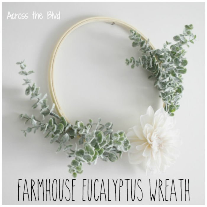 Farmhouse Eucalyptus Wreath