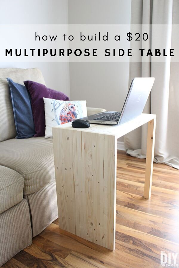 A inexpensive DIY side table