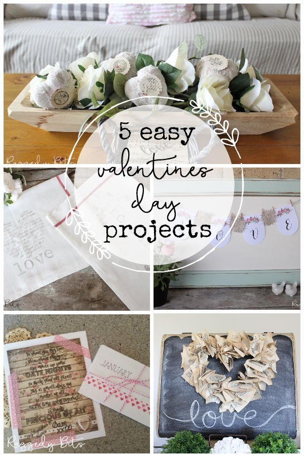 5 Easy Valentines Projects
