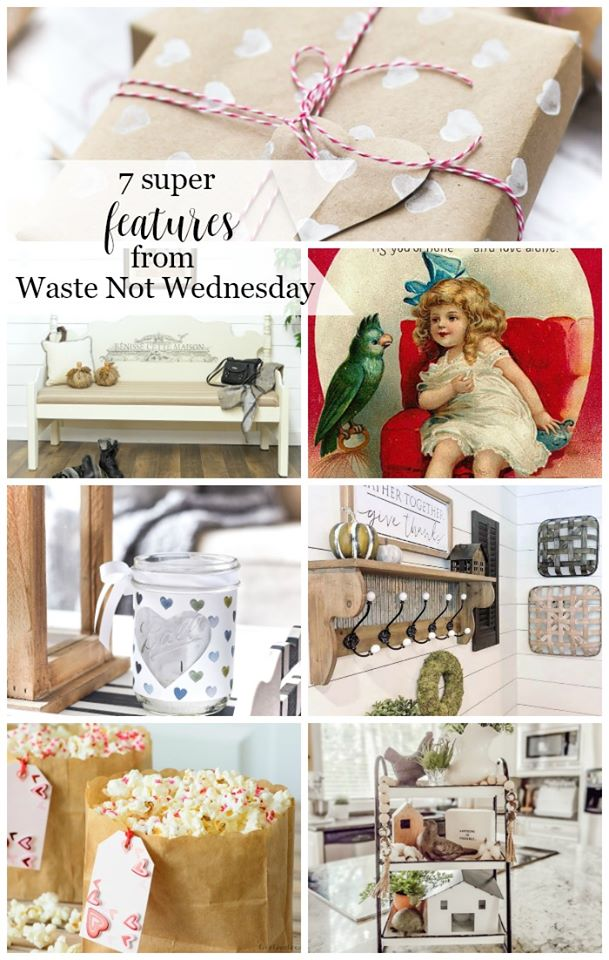 Favorite Featured posts from the Waste Not Wednesday link party.