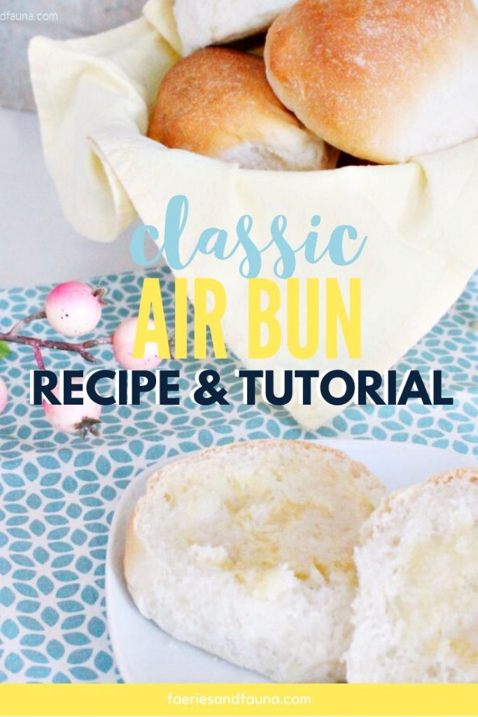 Classic air bun recipe like Mom use to make. A from scratch yeast air bun recipe that is tried and proven.