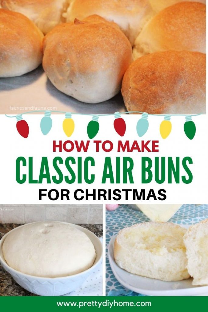 A classic Christmas recipe for golden brown air buns.