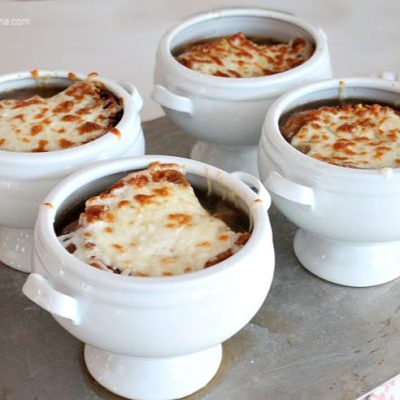 Classic French Onion Soup Recipe like Mom Use to Make