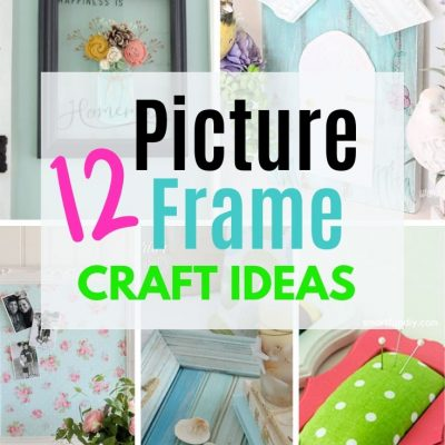 12 Creative Picture Frame Craft Ideas and Upcycles