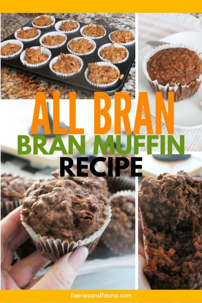 A healthy high fibre low fat bran muffin recipe.