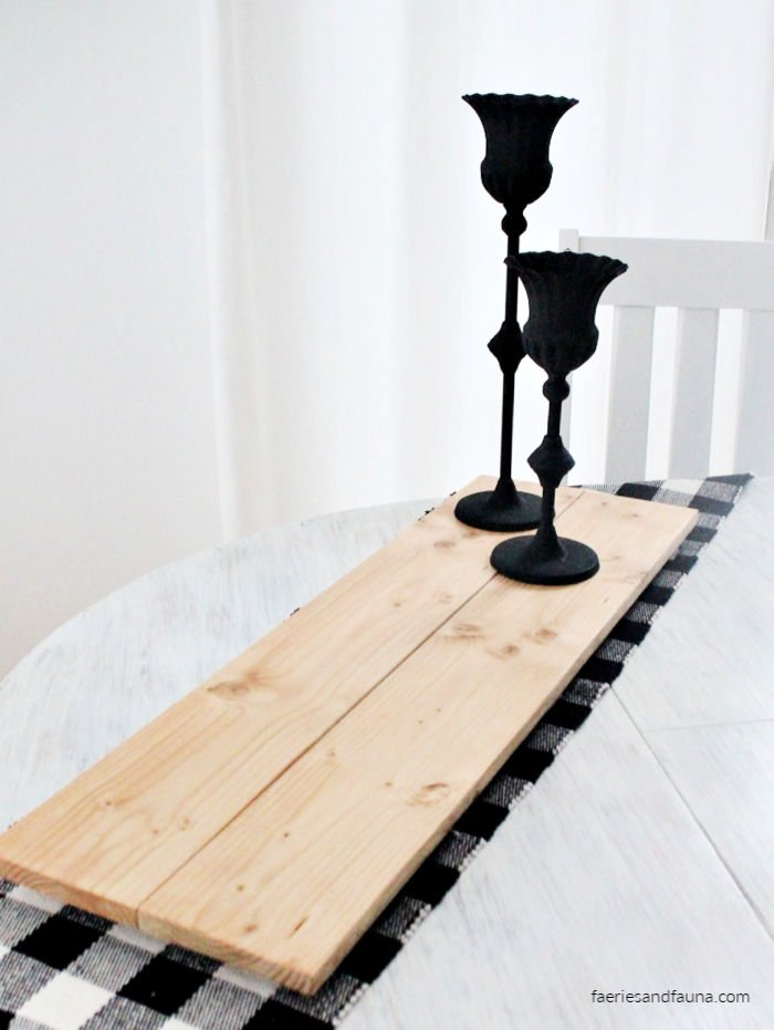 Easy to make wood table riser.