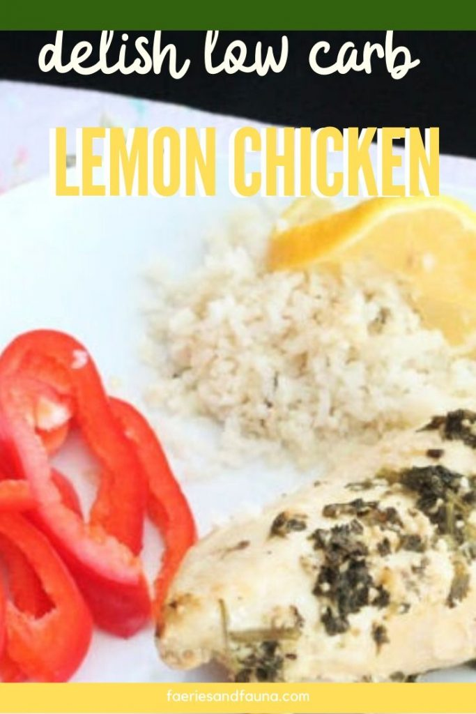 Low carb recipe for lemon chicken